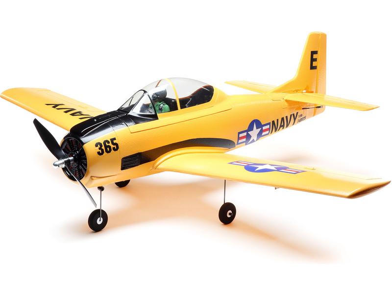 Náhled produktu - E-flite T-28 Trojan 1.1m BNF Basic