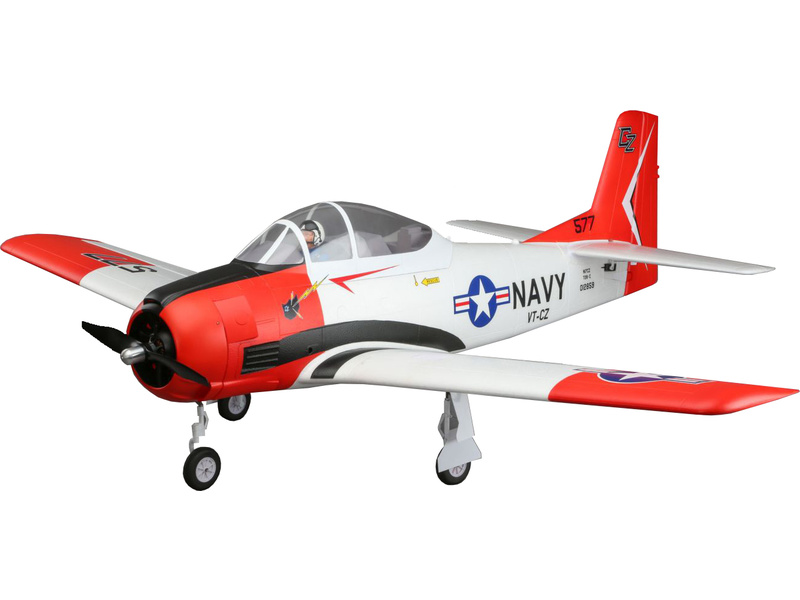T-28 Trojan Carbon-Z 2.0m AS3X BNF Basic