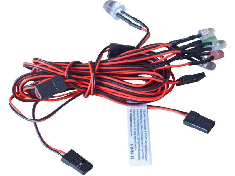 E-flite sada osvětlení: Cargo EC-1500