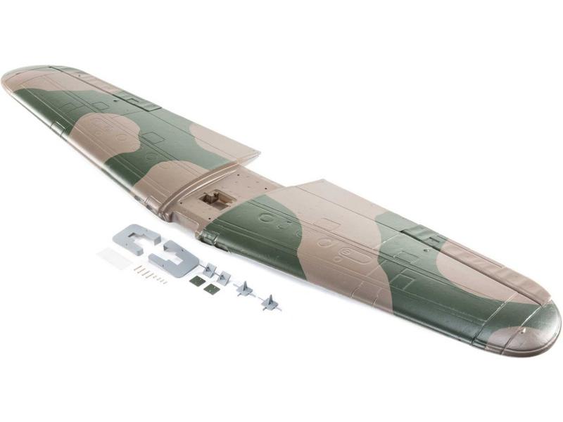 P-39 1,2m: E-flite křídlo