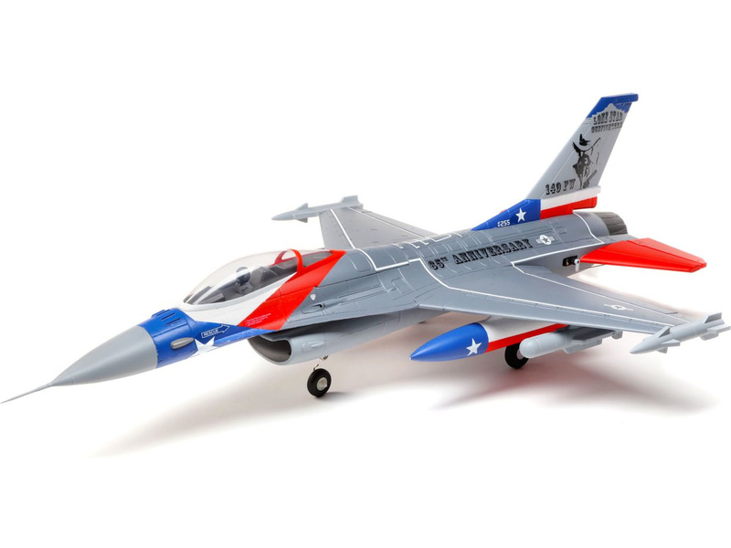E-flite F-16 Falcon 0,7m SAFE Select BNF Basic