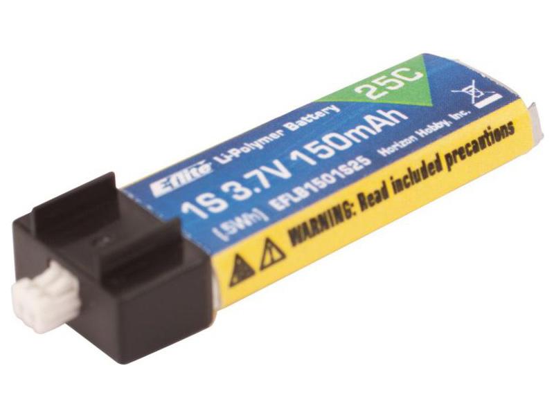 E-flite LiPo 3,7V 150mAh (25C)