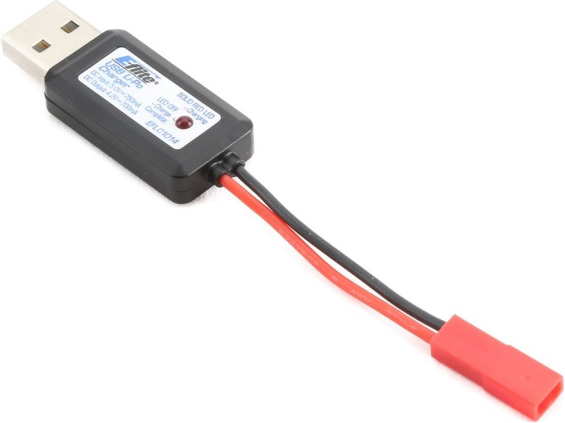 E-flite nabíječ LiPo 3.7V 700mA USB