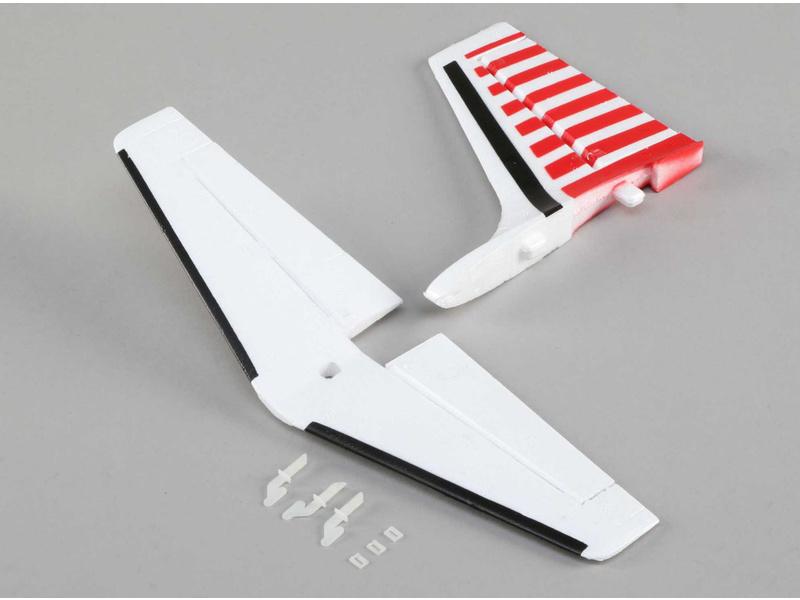 E-flite ocasní plochy: UMX Aero Commander