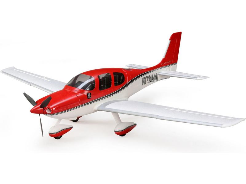E-flite Cirrus SR22T 0.7m SAFE Select BNF Basic