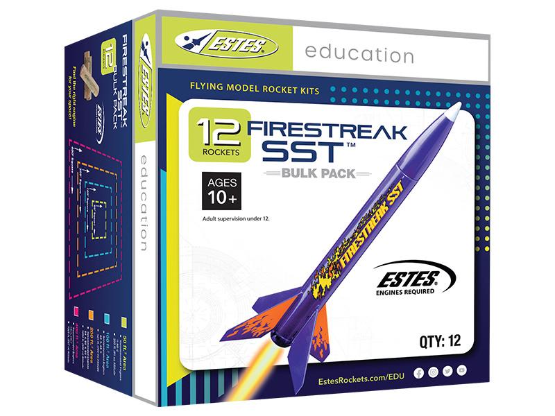 Náhľad produktu - Estes Firestreak SST E2X (12 ks)