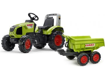 FALK - Педальный трактор Claas Axos 330 с макси-сайдингом / FA-1011Q