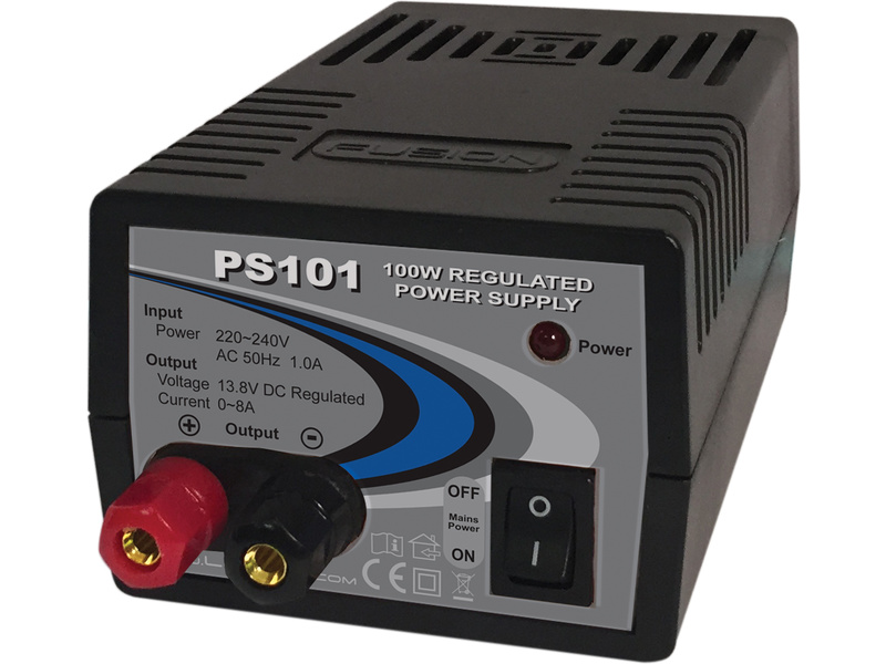 Fusion 100W 230V/13.8V 8A Power Supply