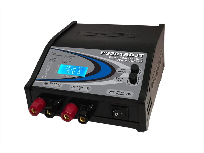 Fusion 200W 230V/5-15V 0-15A Adjustable Power Supply