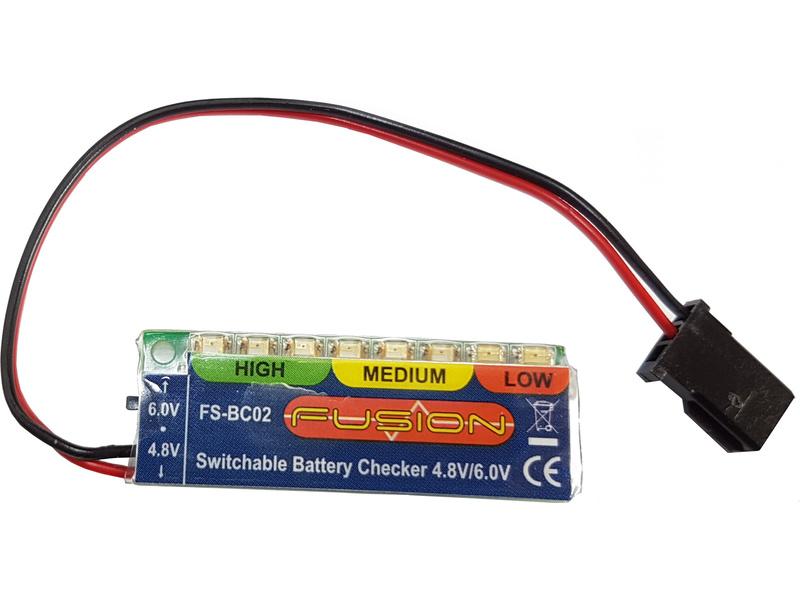 4.8 / 6V NiCd, NiMH Battery Checker