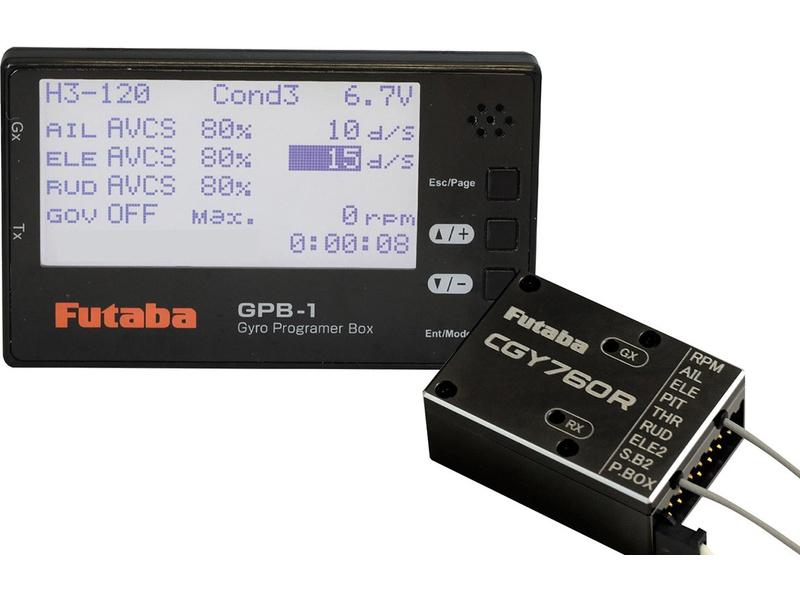 Futaba prijímač CGY760R 2.4GHz FASSTest/T-FHSS, GPB-1