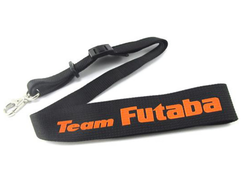 Futaba Trasmitter Neck Strap (Black/Orange)