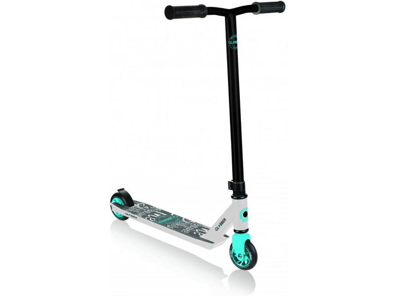 Globber - Koloběžka Freestyle Stunt GS 360 White / Blue