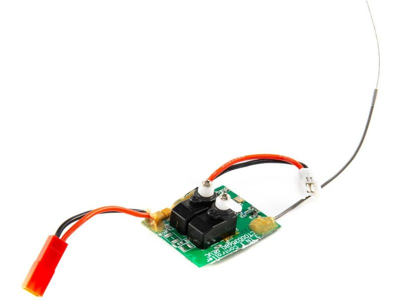 Mini AeroScout: Hobbyzone riadiaca jednotka 3v1