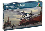 Italeri Cessna 172 Skyhawk - 1987 Landing on Red Square (1:48)