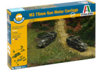 Italeri Easy Kit - M3 75mm HALF TRACK (1:72)