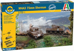Italeri Easy Kit - M4A3 75 mm SHERMAN (1:72)