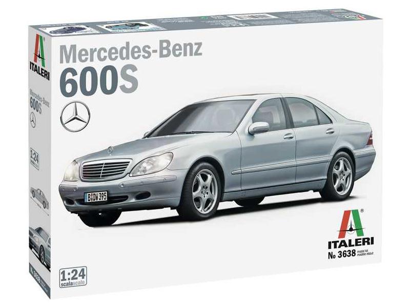 Italeri Mercedes Benz 600S (1:24)