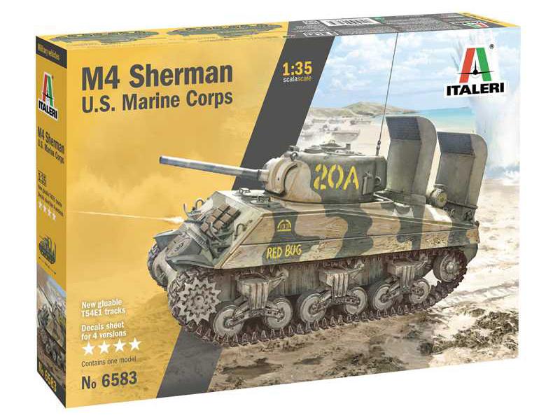 Italeri M4 Sherman U.S. Marine Corps (1:35)