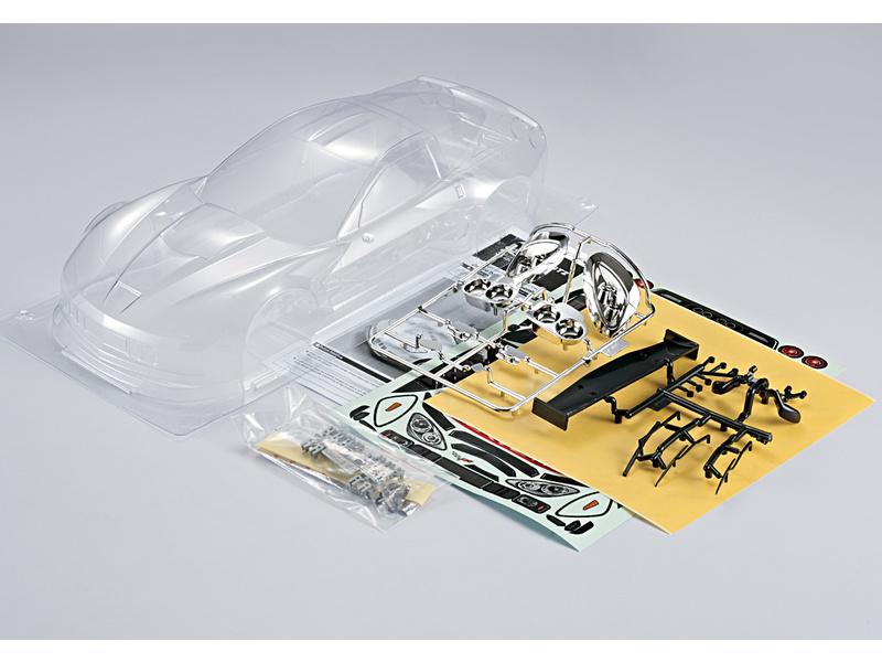 Killerbody karosérie 1:10 Corvette GT2 čirá