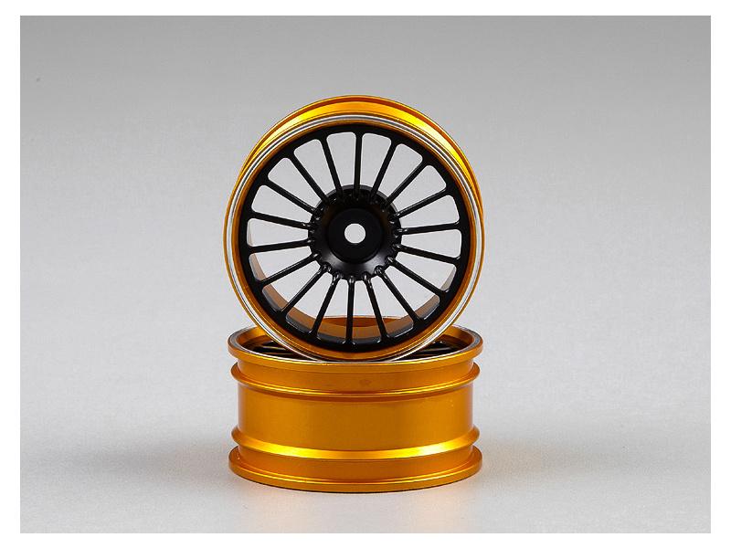 Killerbody disky hliníkové černé (2): Alfa Romeo TZ3 Corsa 1:10