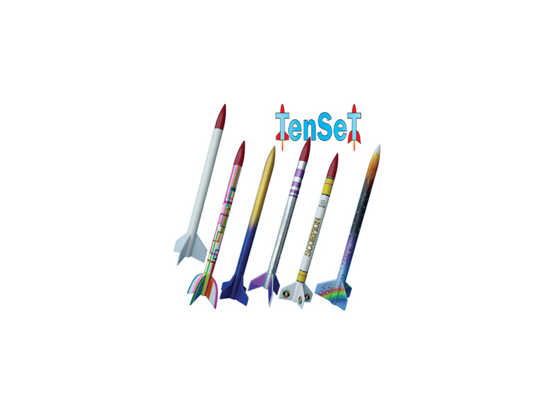 Klima TenSeT Kit (Parts for 10 Rockets)
