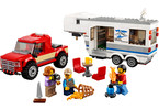 LEGO City - Pick-up a karavan