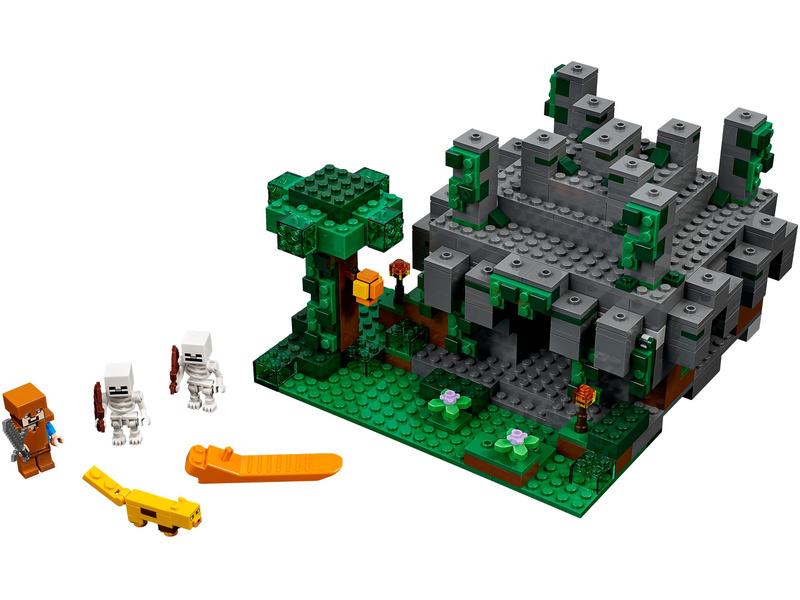Lego Minecraft Jungle Temple Lego21132 Astra