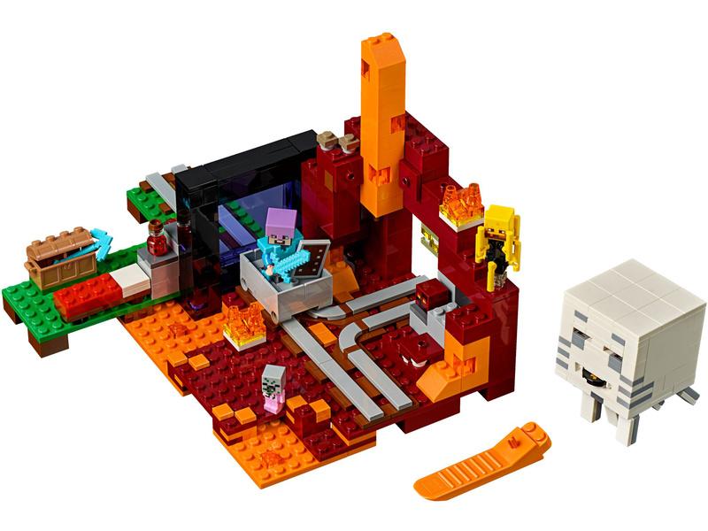 Lego Minecraft The Nether Portal Lego21143 Astra