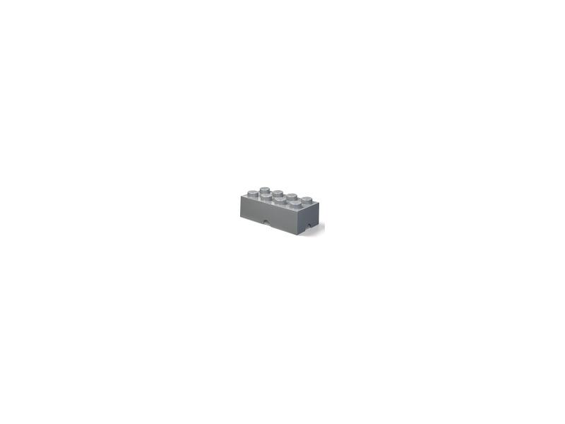 LEGO úložný box 250x500x180mm - tmavě šedý