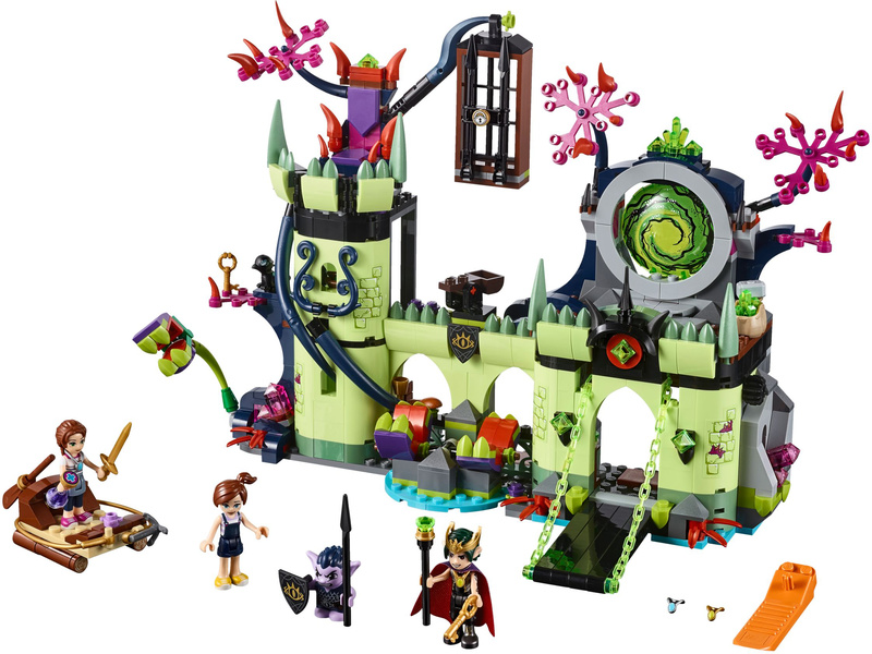 Lego Elves Breakout From The Goblin Kings Fortress Lego41188