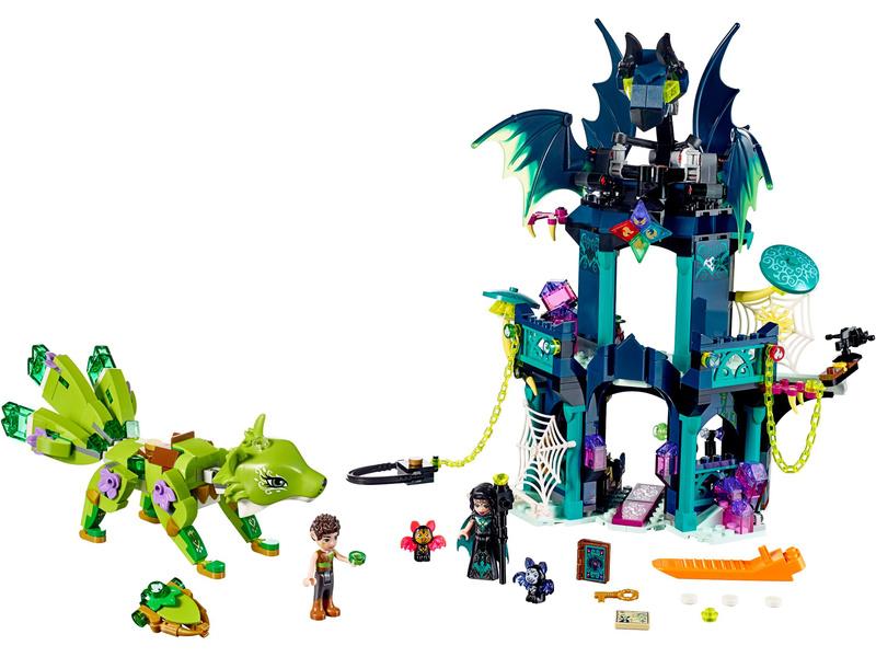 Lego Elves Nocturas Tower The Earth Fox Rescue Lego41194 Astra