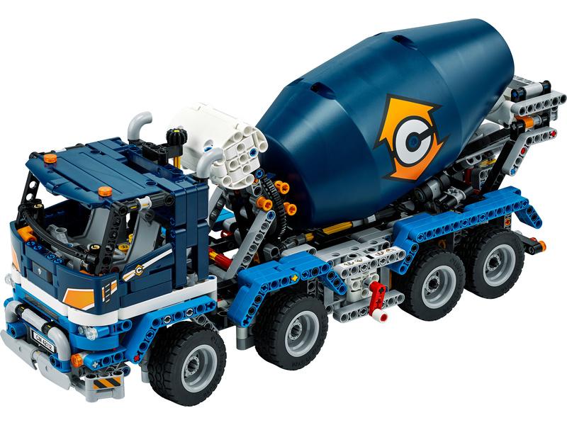 LEGO Technic - Náklaďák s míchačkou na beton