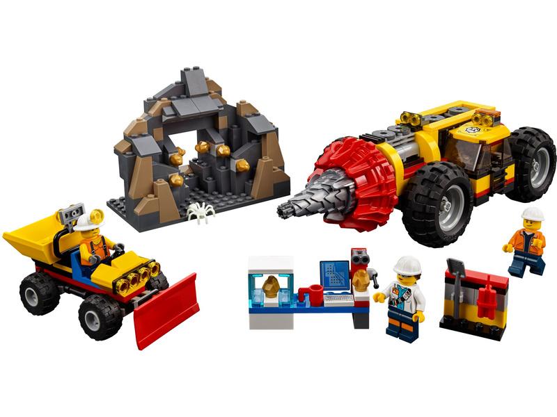 Lego City Důlní Těžební Stroj Lego60186 Astra