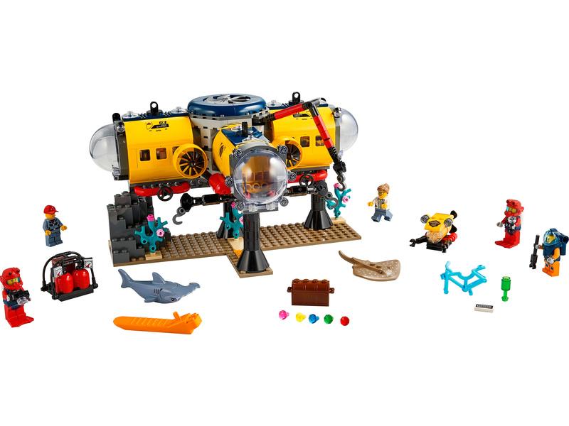 LEGO City - Oceánská průzkumná základna