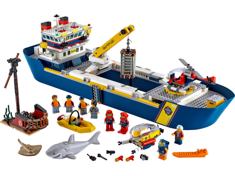 LEGO City - Oceánská průzkumná loď