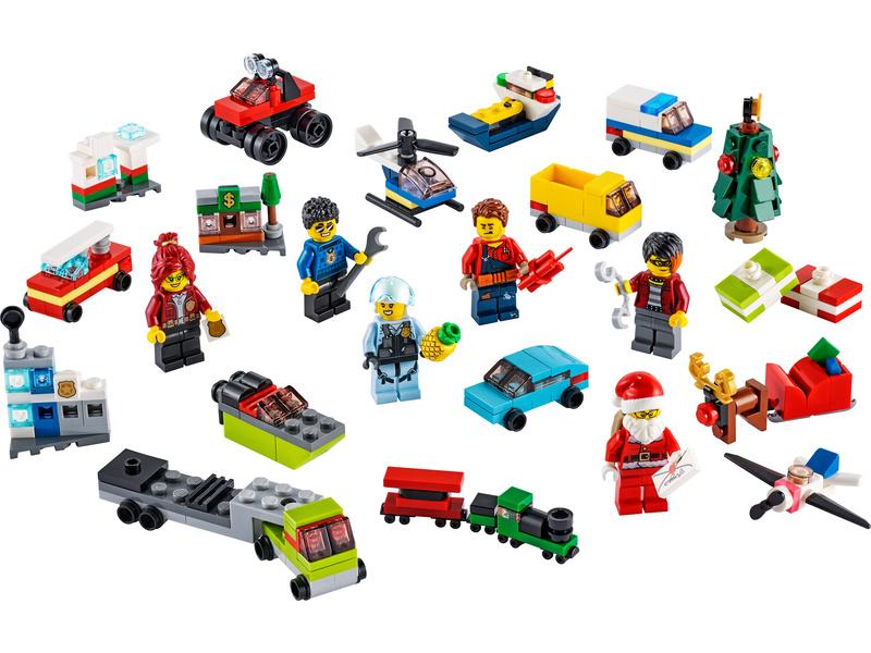 LEGO City - Adventní kalendář LEGO® City