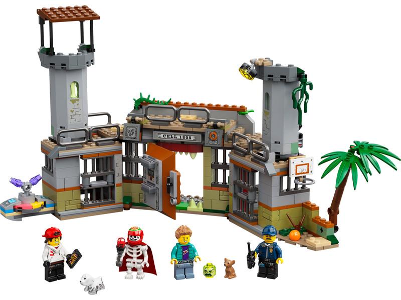 LEGO Hidden Side - Opuštěná věznice v Newbury
