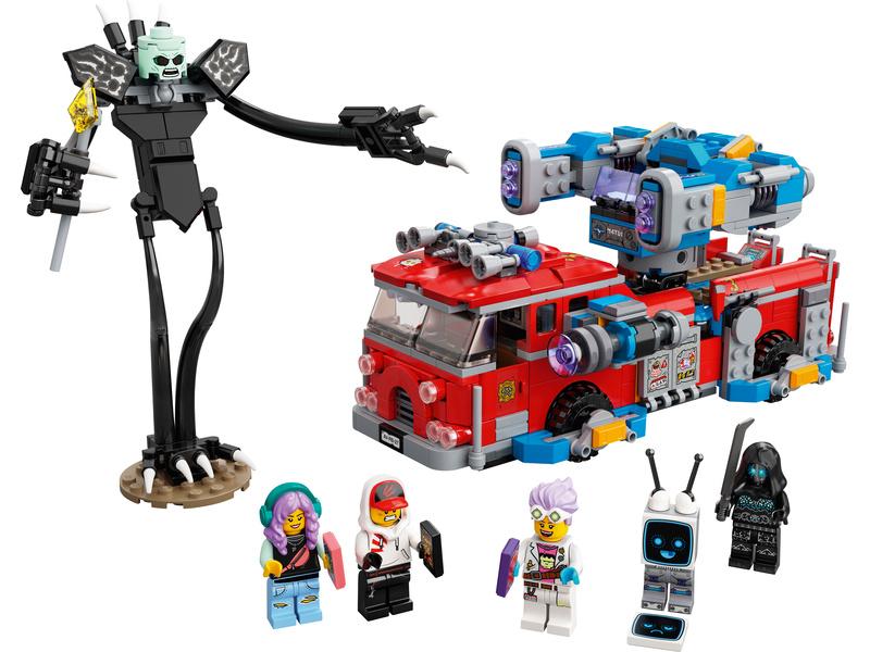 LEGO Hidden Side - Přízračný hasičský vůz 3000
