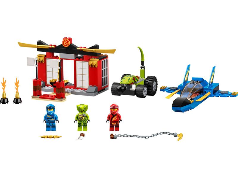 LEGO Ninjago - Bitva s bouřkovým štítem