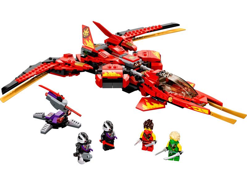 LEGO Ninjago - Kaiova stíhačka