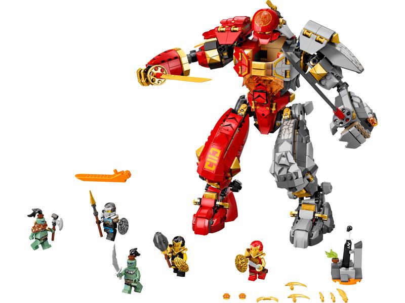 LEGO Ninjago - Robot ohně a kamene