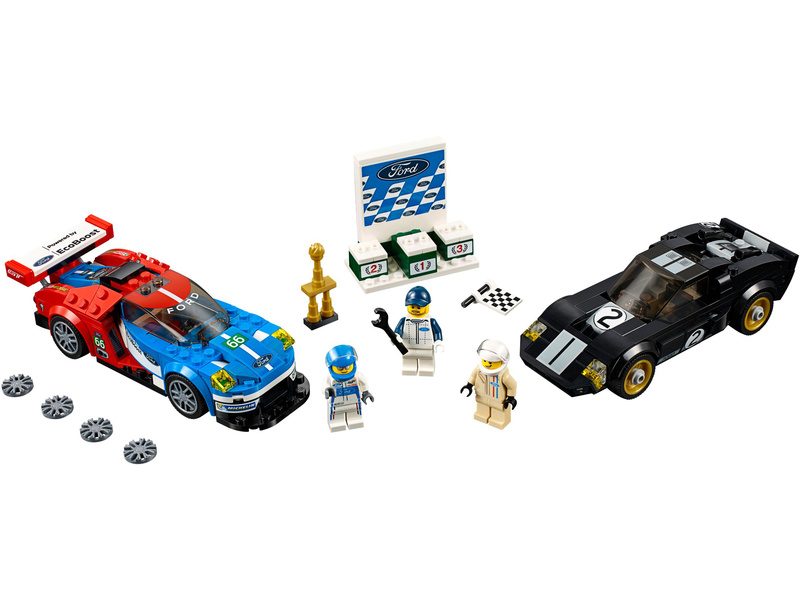 Lego Speed Champions 2016 Ford Gt 1966 Ford Gt40 Lego75881 Astra