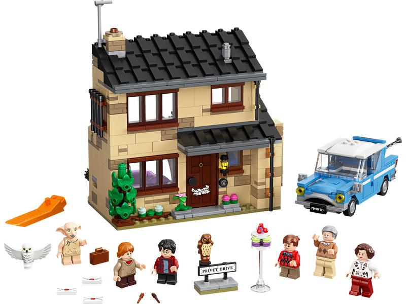 LEGO Harry Potter - Zobí ulice 4