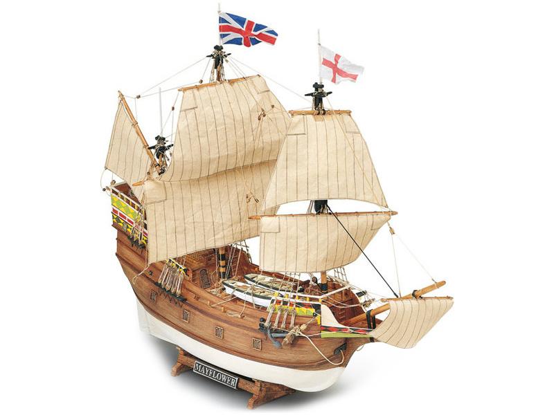 1:70 Mayflower 1609 (stavebnice)