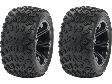 "Medial Pro kolo 2.8"" Addict H12/19mm, pneu Dirt Crusher (pár) / MP-5445"