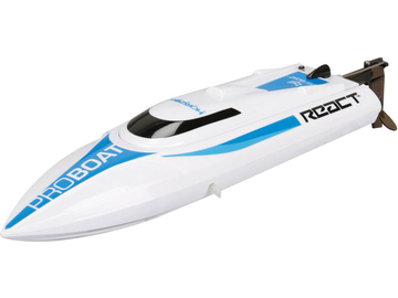 Proboat React 9 Self-Righting Brushed Deep-V RTR / PRB08023