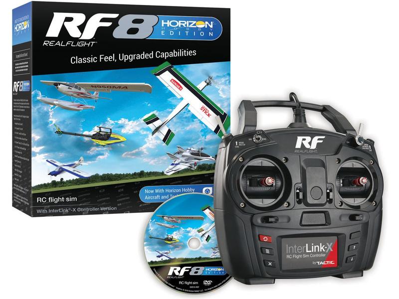 RealFlight 8 simulátor Horizon Hobby, Interlink-X
