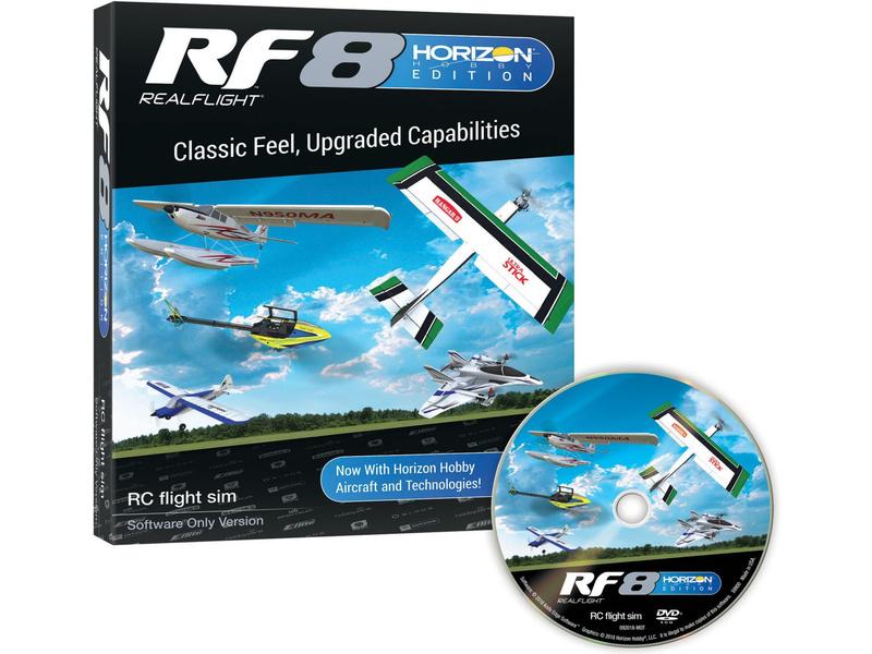 RealFlight 8 simulátor Horizon Hobby – jen software