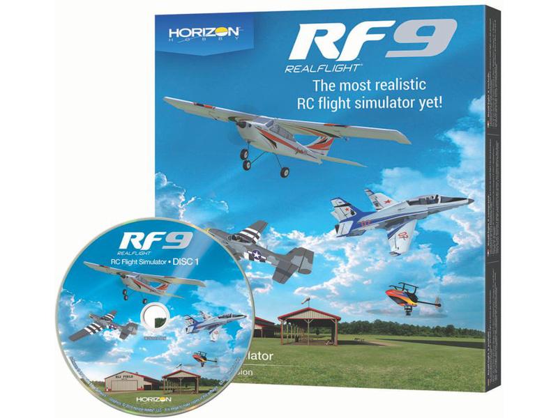 RealFlight simulátor 9 (pouze software)